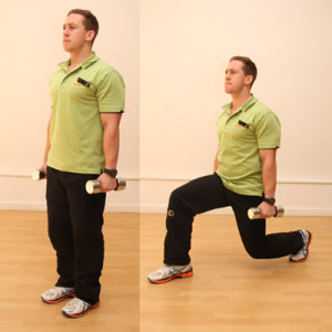 Lunge technique