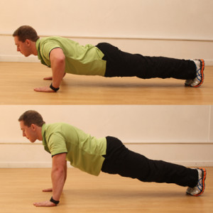 Push-up technique