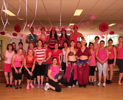 Zumba Party in Pink - Oct 2013