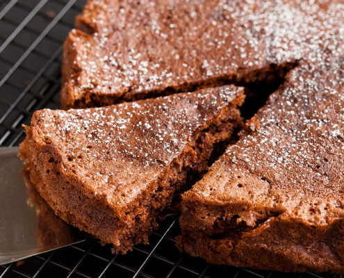Chocolate Cake Without The Guilt