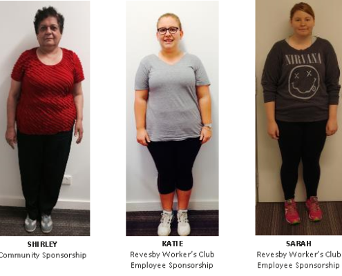 Weight Loss Challenge Sponsorship Winners