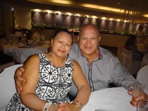 Tom Hopa and wife